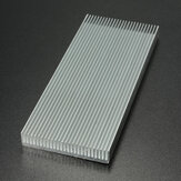 100x41x8mm Aluminum Heat Sink Heat Sink Cooler For High Power LED Amplifier Transistor Cooling