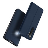 DUX DUCIS for Xiaomi Mi Note 10 Lite Case Flip Magnetic with Card Slot Stand Shockproof PU Leather Protective Case Non-original