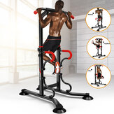 6 Level Height Adjustable Multi-Grip Chin Up Bar Indoor Push Up Station Rack Fitness Training Equipment