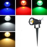 4w ip65 LED luce di inondazione con asta per il paesaggio esterno giardino percorso ac85-265v