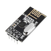 NRF24L01+ 2.4GHz Antenna Wireless Transceiver Module For MCU Transmission Distance 100M Geekcreit for Arduino - products that work with official Arduino boards