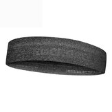 ROCKBROS Sportowa opaska na głowę Sweat Absorption Reflective Fitness Yoga Running Headband