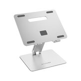 BlitzWolf®BW-ELS2 Bracket Laptop Stand Foldable Aluminum Alloy Laptop Stand Heat Dissipation Adjustable Angle Hold up to 8kg