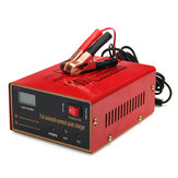 12/24V 10A 140W Car Motorcycle Lead Acid Red Battery Charger Full Automatically