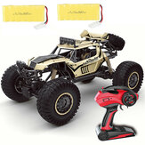 609E RTR Two Battery 1/8 2.4G 4WD RC Car Electric Off-Road Vehicles Truck RTR Model Kid Children Toys