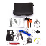 Hunting Outdoor SOS Emergency Kit Equipment Box Camping Survival Tactical Tools Kit