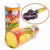 Tricky Potato Chips Bouncing Snake Funny Toy Fool's Day Gifts For Men women friends