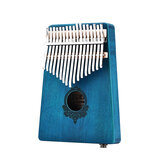 17 Phím Gỗ Gỗ Gụ Châu Phi Mbira Kalimba Bàn phím Thumb Piano Finger Bộ gõ