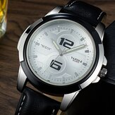 YAZOLE 418 Luminous Kulit Strap Mode Sport Men Menonton