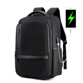 ARCTICHUNTER B00120 18 Inch Laptop Bag Mens USB Charging Waterproof Backpacks Multifunction Large Capacity Travel Bagpack Men's Shoulder Bag School Bag