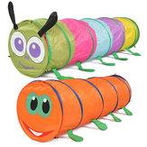 Çocuklar Çadır Oynamak Renkli Tırtıl Tarama Çadır Tünel Komik Gelişim Oyuncaklar
