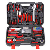 KAFUWELL H2923A 138pcs Telecommunications Electrician Network Pliers Household Network Circuit Repair Combination Tools Kit