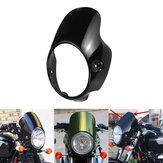 Capucha de carenado de faro de 7 `` para motocicleta Triumph BONNEVILLE T100 T120 SE Thruxton 900 Scrambler