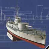 1: 100 Модель Титаника DIY Бумажная модель Набор Корабль-паром Собрать Ручная работа 3D-игра-головоломка Детские игрушки Немецкий линкор