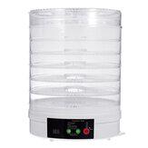 7 Στρώμα Ηλεκτρικός Αποξηραντής Φρούτων Στεγνωτήρας Φρούτων Veg Preserver Machine 350W