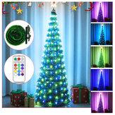 Árvore de Natal de 2020 com cordão leve Controle Remoto LED Farolins para decoração de natal em casa