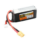 ZOP Power 11.1V 1500mAh 3S 30C Lipo Batterij XT60 Plug