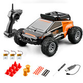 S638 Several Battery RTR 1/32 2.4G 20km/h Mini LED Light RC Car Off Road Vehicles Models Kids Child Toys