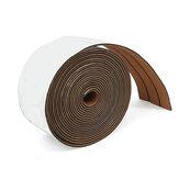 12.5M Tappeto in schiuma EVA marrone lungo con pavimento in teak sintetico