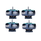 4X iFlight XING2 1404 3800KV 2-4S Brushless Motor for Toothpick RC Drone FPV Racing