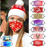 Adult Christmas Modello Dust Maschera con PM2.5 Filter Element Cosplay Maschera