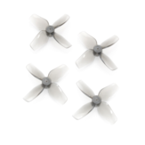 2 أزواج HQProp الدعامة المتناهية الصغر 40mmx4 40mm 4-Blade Propeller 1.0mm Shaft for TinyWhoop RC Drone FPV Racing