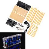 WangDaTao Tela Grande DIY Relógio Kit de Produção Eletrônico de Alta Precisão DIY Solda Kit de Treinamento
