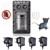 Electronic ultrasonic pest rato rato Inseto controle de roedores repeller anti - espião Assassino armadilha bug chaser