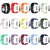Bakeey Multi-color Silicone Replacement Strap Smart Watch Banda Para Huawei Watch Fit