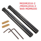 MGIVR2016-2/MGIVL2016-2 Grooving Cut Off Tool Holder With 1pc MGMN200 Insert