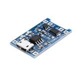 3Pcs TP4056 Micro USB 5V 1A Lithium Battery Charging Protection Board TE585 Lipo Charger Module