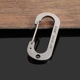 Sanrenmu SK010D Number Zero Stainless Steel Carabiner Tool Key Chain Lucky
