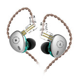 Блоки KBEAR KB06 2BA + 1DD Металлический HiFi Sport в Уши Наушник 3,5 мм Super Bass Music Ушиbuds с 2-дюймовым кабелем для KBEAR F1 KB10