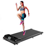 Mini 1.5hp Electric Treadmill Remote Control Treadmill Running Fitness Machine Width Belt Speed/Time/Mileage Display
