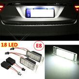2x fout Gratis 18 LED SMD nummer licentieplaat lamp voor Chevy Camaro Cruze