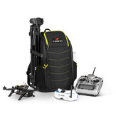 Torvol QUAD Pitstop Backpack with Smart Zipper Backbag Support Carry 2 Quadcopter Goggles Transmitter for RC Drone FPV Racing