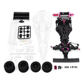 CN CR-F113P Fibra de Carbono 1/10 2WD Eléctrico F1 Racing Power On Road RC Kit de Coche Chasis Chasis