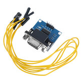 3Pcs A14 RS232 to TTL Serial Port to TTL Converter Board Brush Module MAX3232 Chip