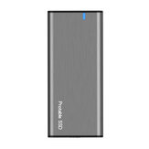 Hard Drive Enclosure NGFF to USB3.1 M.2 SSD Case External Hard Disk Enclosure Support UASP Type-C 3.1 Gen2 10Gbps Hard Drive Case