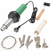 1600W Plastic Welding Hot Air Gun with 2Pcs Speed Welding Nozzle and Extra HE Rod Welding
