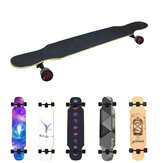 ARDEA MS400 107cm/42in Abec-7 Carton Steel Bearing Long Board Skateboard Aluminum Truck 7-layer Skate Boards for Children Adult Beginnner