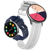 [bluetooth Call]Bakeey S8 Heart Rate Blood Pressure Monitor Weather Display Music Control Full-touch Screen Smart Watch