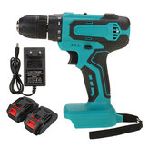 18V Electric Drill 10mm  Rechargeable Cordless Power Drills Adapted To Makita Battery With 1 Battery 1 Charger