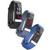 [Analiza HRV] Bakeey Y91 EKG + PPG Tętno Monitor ciśnienia krwi Tlenometr Tryb wielu sportów IP68 Wodoodporny Sterowanie kamerą Inteligentny zegarek