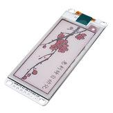 2.13 Inch Módulo de pantalla de tinta electrónica Blanco y negro SPI / E-paper Electronic Paper / Eink Pantalla
