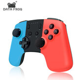 DATA FROG Bezprzewodowy kontroler gier Bluetooth Gamepad Joystick dla konsoli Nintendo Switch PS3 PC Smart TV