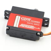 GDW DS396MG 12KG Large Torque High Voltage Metal Gear Digital Servo voor RC-modellen