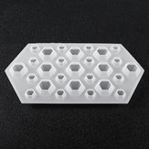 DIY Diamond Resin Casting Molds Silicone Jewelry Pendant Craft Making Mould