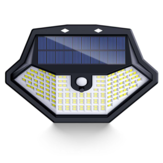 ARILUX® 134LED Solar Light 3 Modes Light Sensor PIR Human Induction Wall Lamp IP65 Waterproof