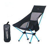 Naturehike NH17Y010-Z Alumínio Folding Chair Lightweight Stool Camping Pequeno Seat Max Load 90KG